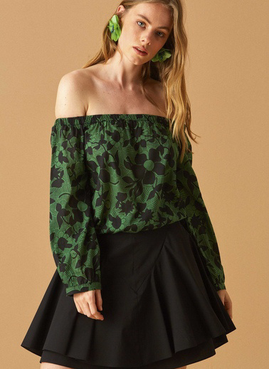 Roman Gömlek Yeşil